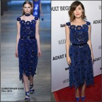"Rose Byrne in Christopher Kane – ""Adult Beginners""  Premiere"