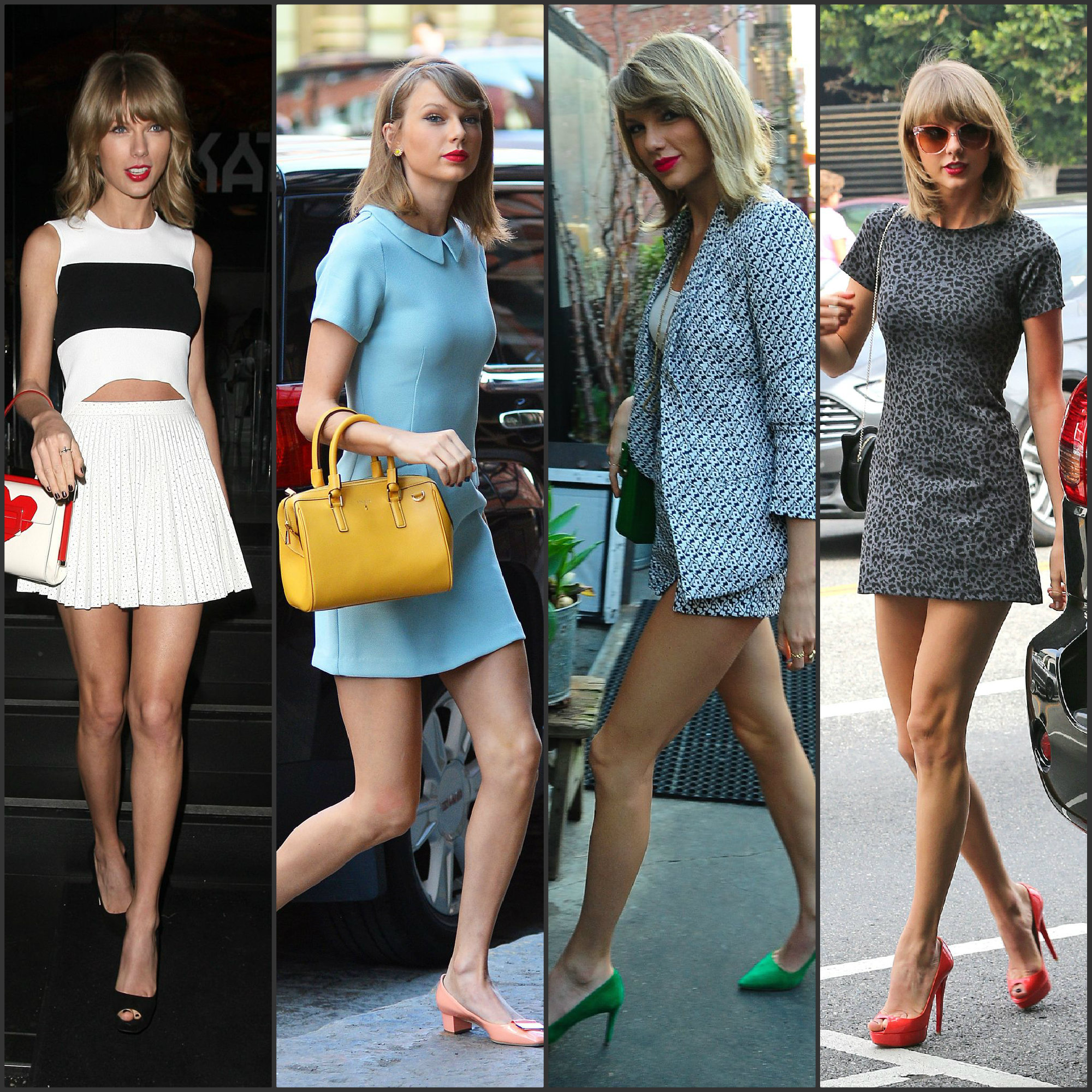 Taylor Swift Street Style Fashion Sizzle