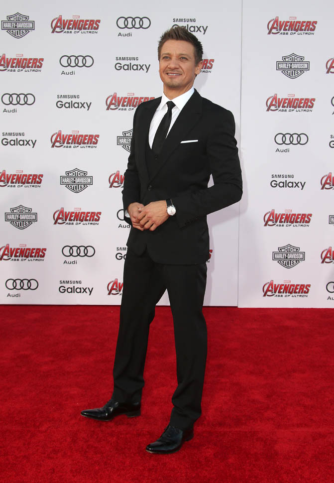 "Jermey -Renner-Marvel's -""Avengers-Age- Of- Ultron"" - Los -Angeles -Premiere"