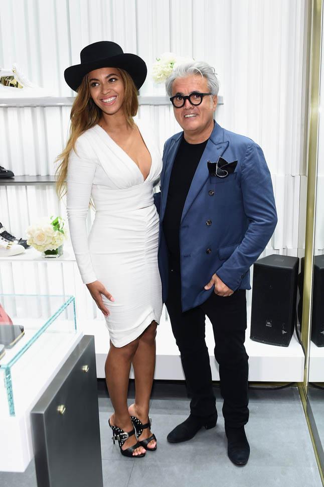 Giuseppe Zanotti Beverly Hills Store Opening