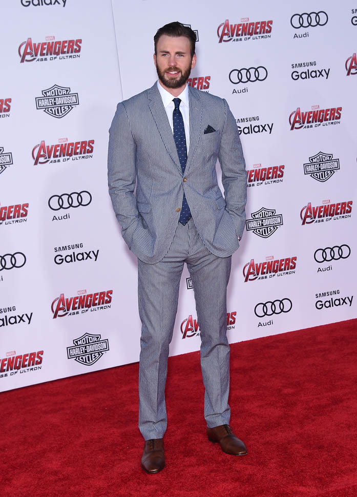 "chris-evans-Marvel's -""Avengers- Age -of -Ultron"" -World- Premiere"