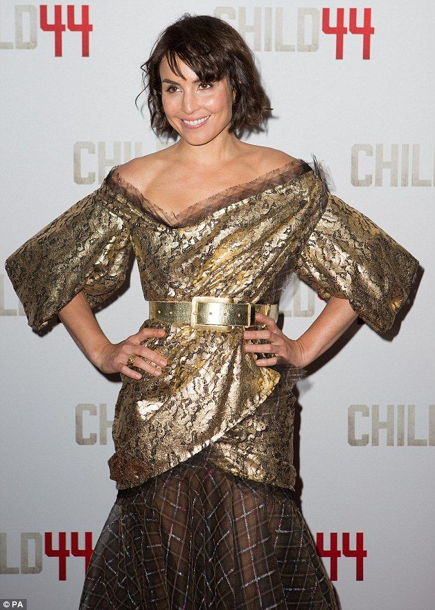 Noomi Rapace In Vivienne Westwood at 'Child 44′ London Premiere