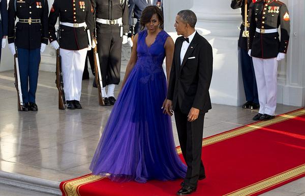 michelle-obama-tadashi-shoji-white-house-state-dinner