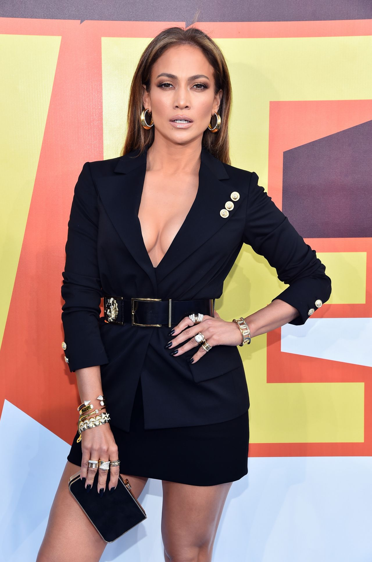 Jennifer Lopez In Versus Versace At The 2015 Mtv Movie Awards Fashionsizzle