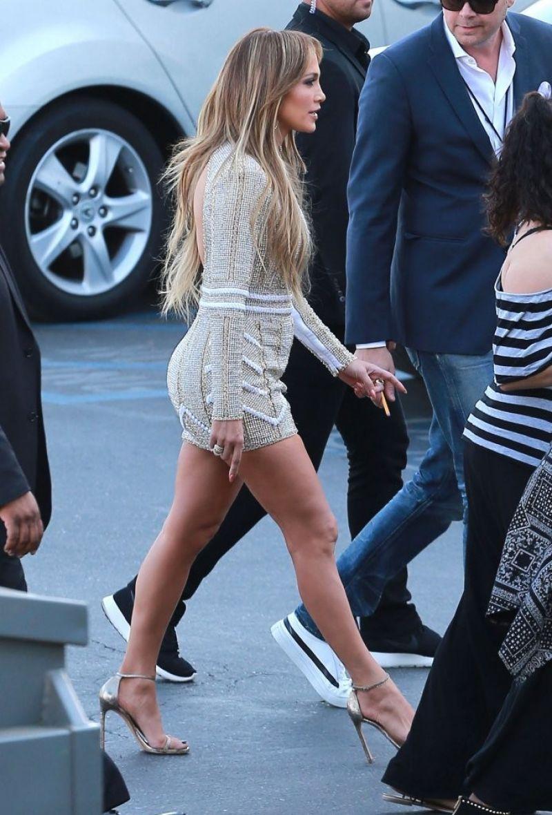 Jennifer Lopez in Nicolas Jebran on the American Idol Season XIV Show