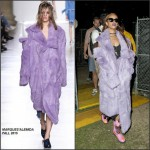 Rihanna in Marques Almeida- Coachella
