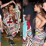Rihanna in  KTZ –  Coachella