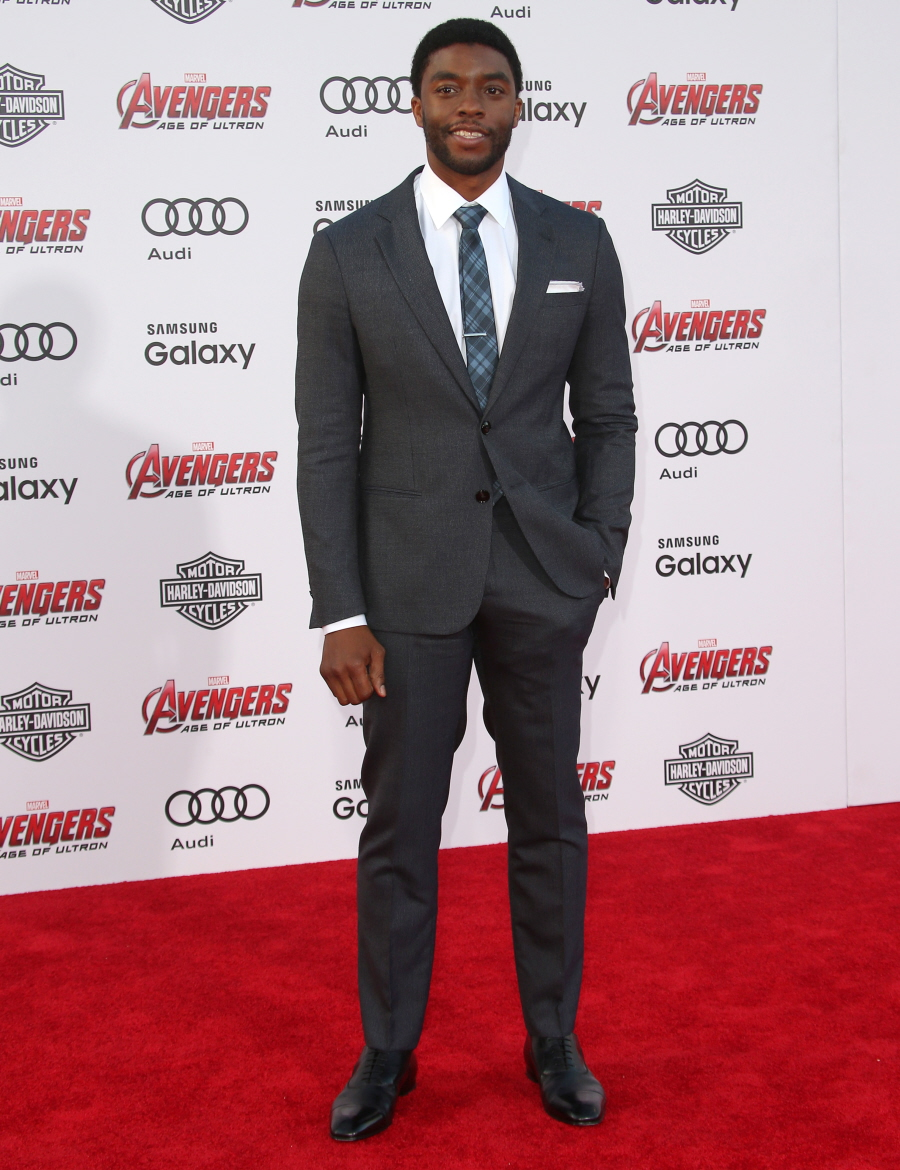 Chadwick- Boseman -at-avengers-age-of-ultron-premiere_4