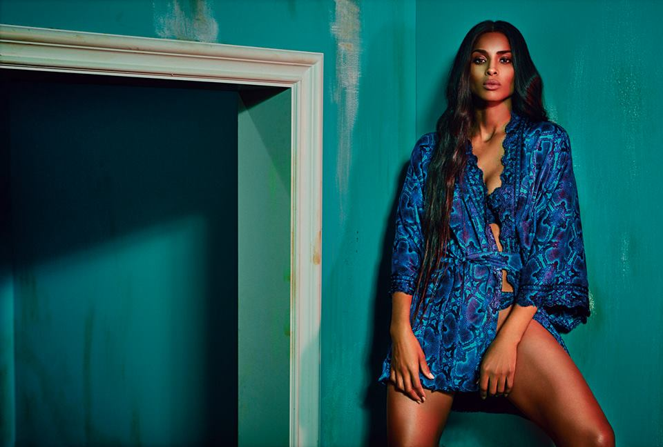 Ciara's Kingdom - Roberto Cavalli Fall/Winter 2015-16 Ad Campaign