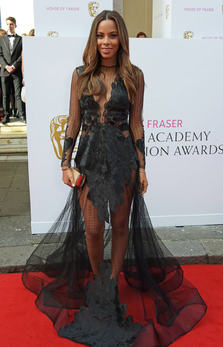Rochelle- Humes--BAFTA-Awards-2015-