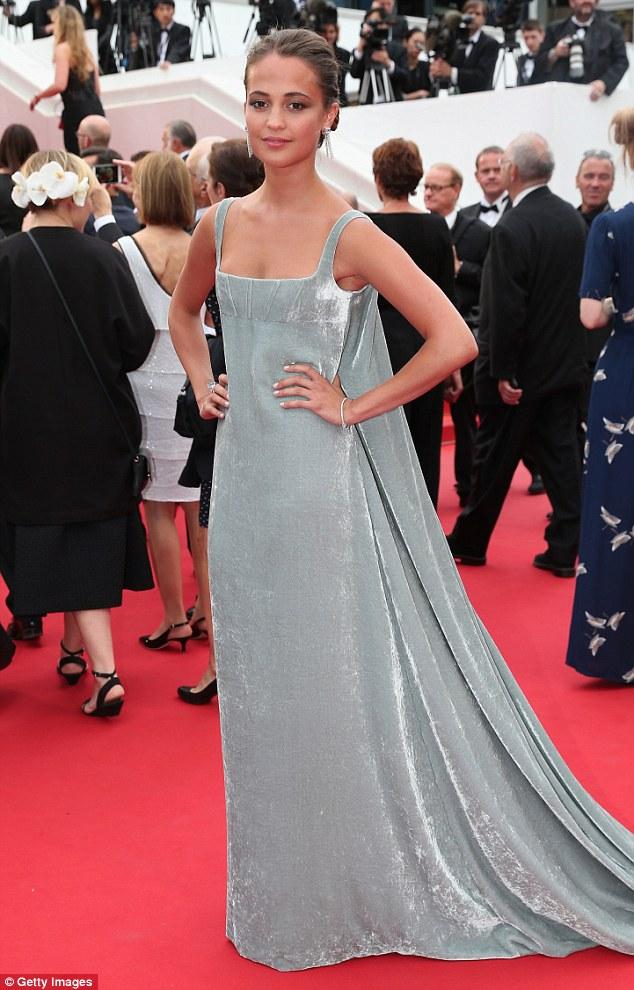 """Alicia- Vikander - the """"Macbeth"""" Premiere -during -the- 68th- annual -Cannes- Film- Festival"""