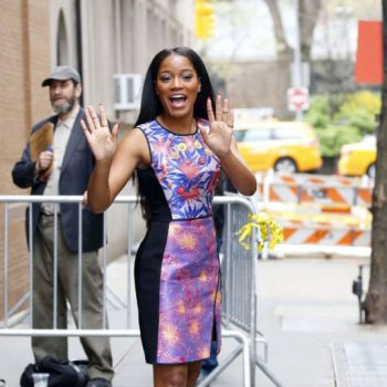 3-Keke-Palmers-The-View-Peter-Pilotto-Printed-Nevada-Dress