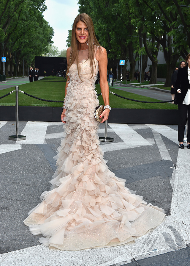 Anna- Dello- Russo-Giorgio- Armani -40th -Anniversary - Silos -Opening -And -Cocktail -Reception - Arrivals