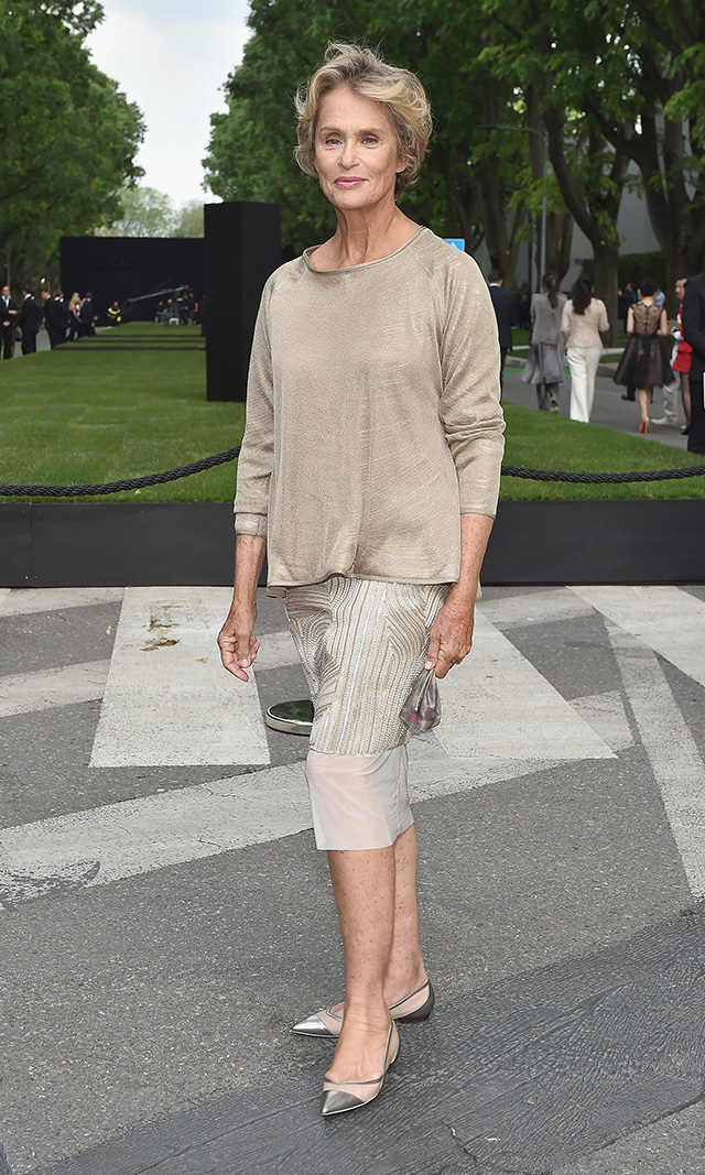 Lauren- Hutton--Giorgio- Armani -40th -Anniversary - Silos -Opening -And -Cocktail -Reception - Arrivals