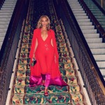 Beyonce in Harbison at the Floyd Mayweather Jr. vs Manny Pacquiao Fight