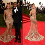 Beyonce and JayZ in Givenchy at the 2015 MET Gala