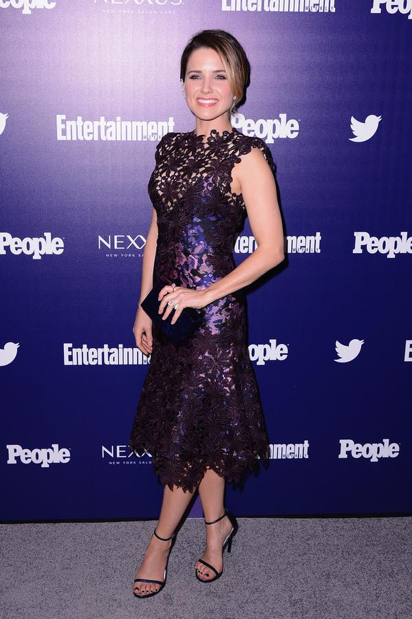 Sophia-bush-in-monique-lhuillier-entertainment-weekly-and-people-celebration-of- the-new-york-upfronts-