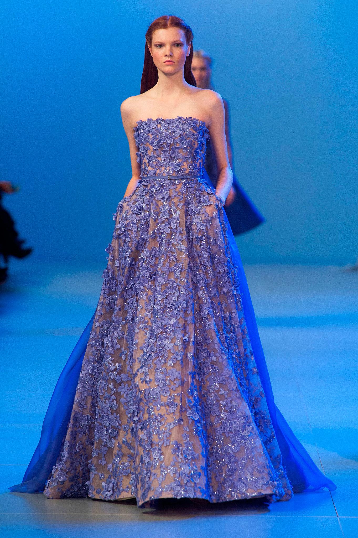 aishwarya rai in elie saab couture at 2015 amfar cinema against aids gala fashionsizzle. Black Bedroom Furniture Sets. Home Design Ideas