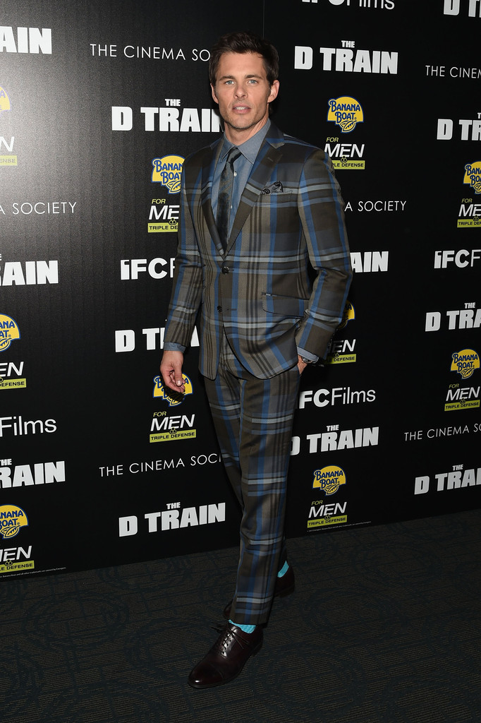 James-Marsden-The-D-Train-2015-New-York-Premiere-Plaid-Etro-Suit