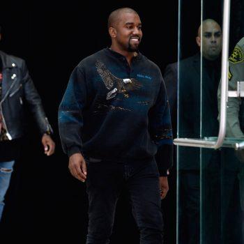 Kanye-West-vintage-alaska-eagle-sweatshirt-Bottega-Veneta-boots