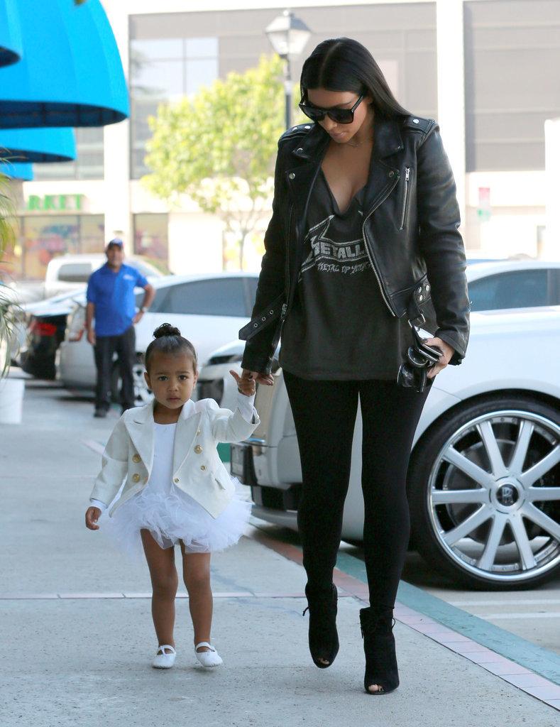 Kim-Kardashian-North-West-Going-Dance-Class