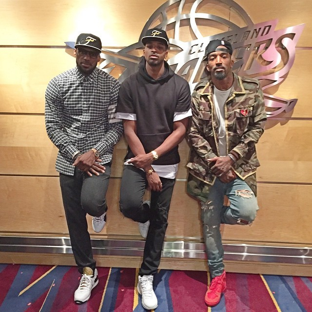 Lebron James, Tristan Thompson, and J.R. Smith won spot To The NBA Finals - Fashionsizzle