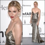 Sienna Miller In Ralph Lauren at 2015 amfAR Cinema Against AIDS Gala