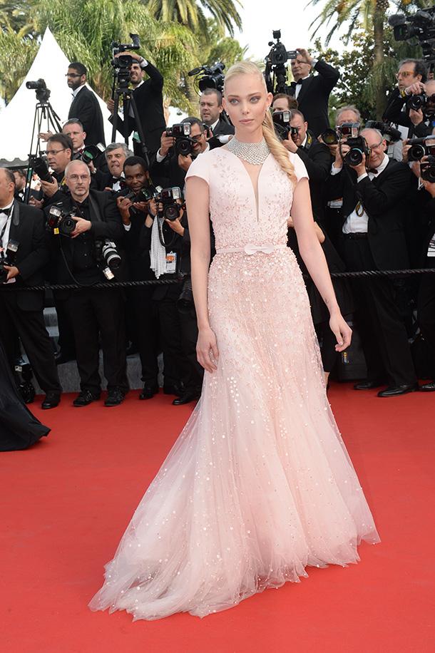 Tatiana- Dziahileva-Georges-Hobeika-stunned-in-Cannes-Festival
