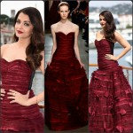 Aishwarya Rai In Oscar de la Renta  at 'Jazbaa' Cannes Film Festival Photocall