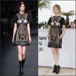Alba Rohrwacher In Valentino  at  'Il Racconto Dei Racconti' Cannes Film Festival Photocall