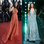 Andie MacDowell In Elie Saab  at the  'Inside Out' Cannes Film Festival Premiere