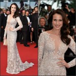 Andie MacDowell In Ralph & Russo Couture at The Sea Of Trees' Cannes Film Festival Premiere