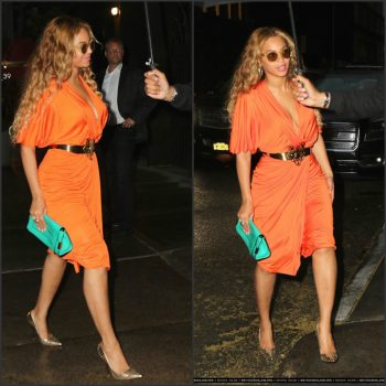 beyonce-in-new-york-city-rocking-a-orange-draped-dress-