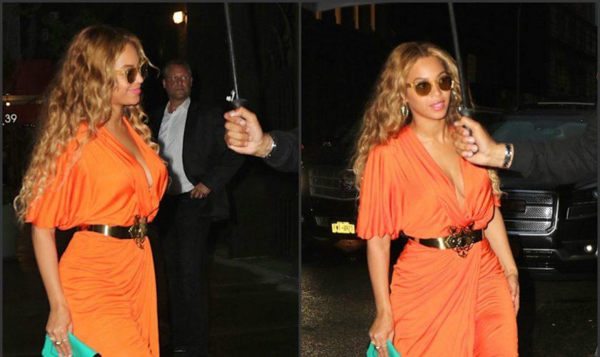 beyonce-in-new-york-city-rocking-a-orange-draped-dress-