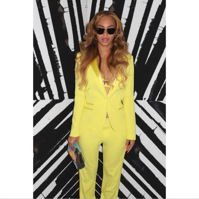 Beyonce Knowles' in Zadig & Voltaire 'Ved' Deluxe Blazer ... Beyonce Instagram