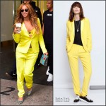 Beyonce Knowles' in  Zadig & Voltaire 'Ved' Deluxe Blazer And Zadig & Voltaire 'Parone' Deluxe Pants