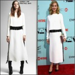 Caitlin Fitzgerald  in Derek Lam at the 'Masters of Sex' LA Screening