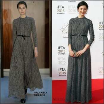 caitriona-balfe-in-orla-kiely-at-the-irish-film-and-drama-awards