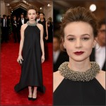 Carey Mulligan In Balenciaga at the 2015 Met Gala