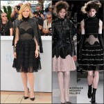 Cate Blanchett In Alexander McQueen  at  'Carol' Cannes Film Festival Photocall