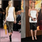 Charlize Theron In Christian Dior  at the  'Mad Max: Fury Road' LA Premiere