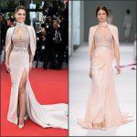 Cheryl Fernandez-Versini In Ralph & Russo Couture  at 'Irrational Man' Cannes Film Festival Premiere