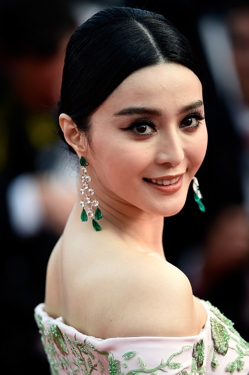 "Fan -Bingbing -in Ralph - Russo- Couture -at -the -""Standing Tall"" 68th -Cannes -Film -Festival -Premiere -Opening -Ceremony"