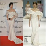 Fan Bingbing In Ralph & Russo Couture  at Trophée Chopard