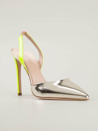 GIAMBATTISTA VALLI sling back pumps