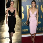 Jamie Chung in Cushnie et Ochs at the 'Bessie' NY Screening