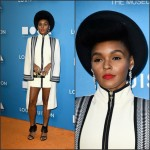 Janelle Monae in Sass and Bide  2015 MOCA Gala