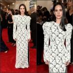 Jennifer Connelly in Louis Vuitton at the  at the 2015 Met Gala