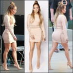Jennifer Lopez in House of CB on the 'American Idol' Season 14  at Top 3 Revealed Show
