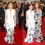 Kate Mara in Diane Von Furstenberg -the 2015 Met Gala